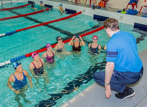 Обучение плаванию для взрослых