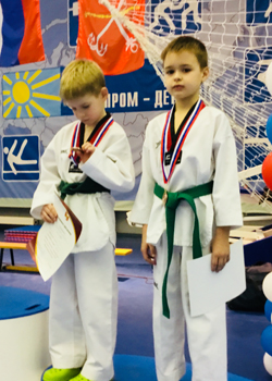 Три медали наших ребят!
