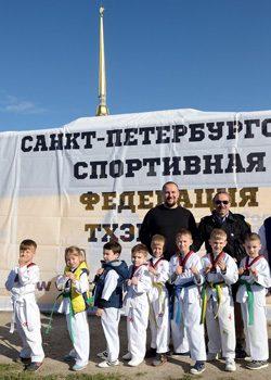Открытая тренировка у Петропавловской крепости