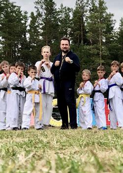 Летний лагерь Школы боевых искусств. Фото