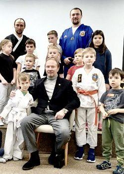 Новый зал Школы боевых искусств Демида Момота